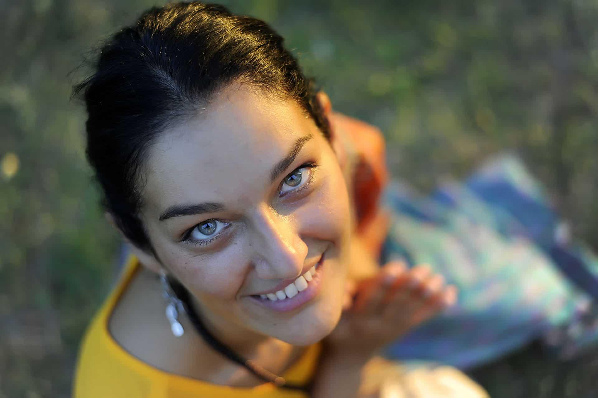 Veronica Gambetti, insegnante yoga Mantova